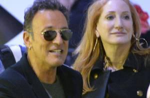 Bruce Springsteen : Le Boss tout sourire avec sa fille Jessica au Gucci Masters