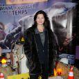 Delphine Chaneaclors de la présentation de la nouvelle attraction du Futuroscope consacrée aux Lapins Crétins à Poitiers le 7 décembre 2013.