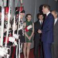 Le prince William lors du British Military Tournament au profit de plusieurs associations en faveur des soldats britanniques le 8 décembre 2013 à l'Earls Court Exhibition Centre.
