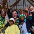 Hommage à Nelson Mandela au Soccer City Stadium à Soweto, le 10 décembre 2013.
