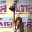 Avril Lavigne en 2002.