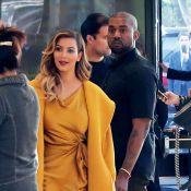 Kim Kardashian : Radieuse pour son shopping de Noël avec Kanye West