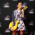 Shy'm sur le tapis rouge des 15e NRJ Music Awards 2013, à Cannes le 14 décembre2013.