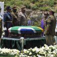 Funérailles de Nelson Mandela à Qunu en Afrique du Sud le 15 décembre 2013.