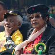 Nelson Mandela et Winnie Madikizela-Mandela à Johannesburg, le 19 avril 2009.