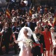Mariage de l'infante Elena d'Espagne et de Jaime de Marichalar en 1995 à Séville