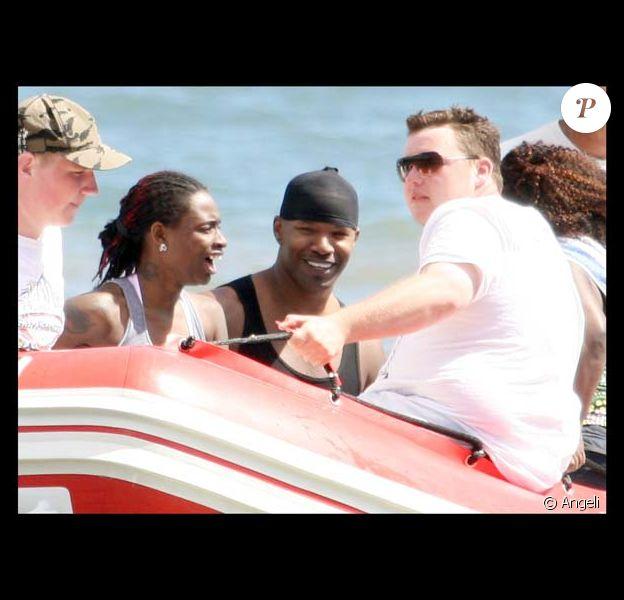Jamie Foxx en vacances avec sa fille