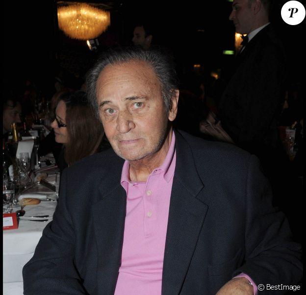Roger Hanin à Paris, le 24 novembre 2008.