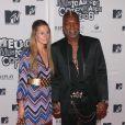 Djibril Cissé et son ex-épouse Jude Littler au MTV Europe Awards au Bella Center de Copenhague, le 2 novembre 2006
