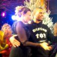 Brahim Zaibat et Valérie Trierweiler ont dansé ensemble lors d'un goûter très spécial à l'Elysée.