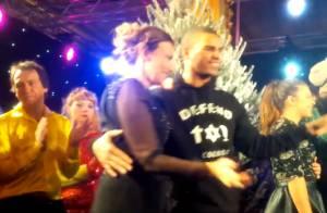 Brahim Zaibat a fait danser Valérie Trierweiler : 'Je ne savais pas qui c'était'