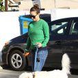 La jolie Olivia Wilde, enceinte, dépose son chien au camp pour animaux domestique K-9 Camp à Los Angeles, le 20 décembre 2013.