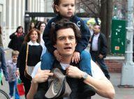 Orlando Bloom : Loin de Miranda Kerr, si complice avec leur fils Flynn