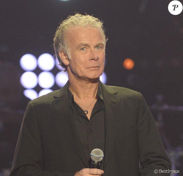 Franck Dubosc au Téléthon 2013, à La Plaine-Saint-Denis le 7 décembre 2013.