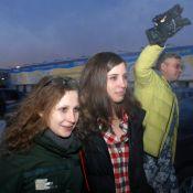 Les Pussy Riot libérées : Maria et Nadejda affaiblies mais déterminées