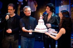 Jean-Luc Lahaye : Comblé avec ses filles pour un superbe show anniversaire