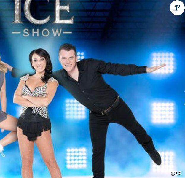 L'équipe de Sarah Abitbol dans Ice Show.