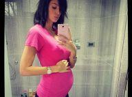 Jade Foret, enceinte de 5 mois : Elle expose son ventre, Liva joue les tops !