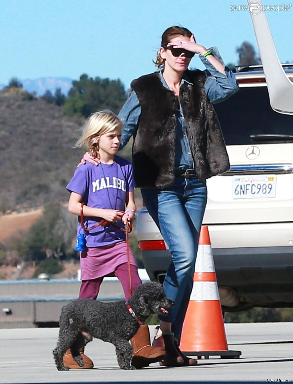 Photo of Julia Roberts & her Daughter  Hazel Moder