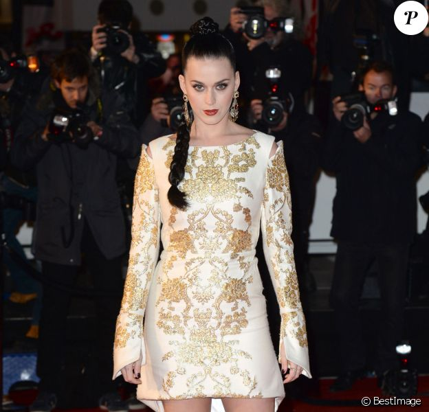 Katy Perry lors de la 15ème édition des NRJ Music Awards à Cannes le 14 décembre 2013