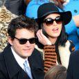 Katy Perry et John Mayer lors de la cérémonie d'investiture de Barack Obama au Capitol à Washington, le 21 janvier 2013