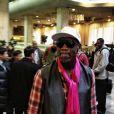 Dennis Rodman pris en photo dans un hôtel de Pyong-Yang, le 6 janvier 2014