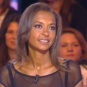 Karine Le Marchand, sexy et décolletée : ''Je défendrai toujours Lilian Thuram''