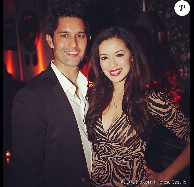 Teresa Castillo et son mari Shane Aaron