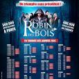 Robin des Bois, Ne renoncez jamais, en tournée dans toute la France, dès le 22 janvier 2014.