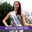 Miss Prestige Franche-Comté, Manon Panier, candidate pour le titre de Miss Prestige National 2014