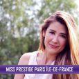 Miss Prestige Paris Île de France, Wendy Grenier, candidate pour le titre de Miss Prestige National 2014