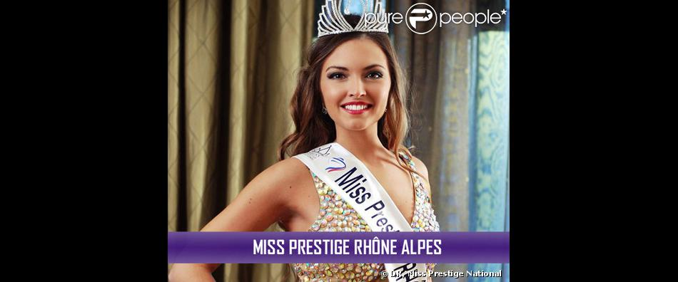 Miss Prestige Rhône Alpes, Katarina Jevtovic, candidate pour le titre de Miss Prestige National 2014