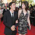 Charlotte Gainsbourg et Yvan Attal à Cannes le 24, mai  2009.