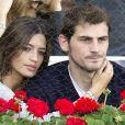 Iker Casillas et Sara Carbonero à Madrid, le 8 mai 2011.