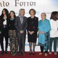 La reine Sofia d'Espagne à l'avant-première du biopic  Vicente Ferrer  à Madrid le 8 janvier 2014.