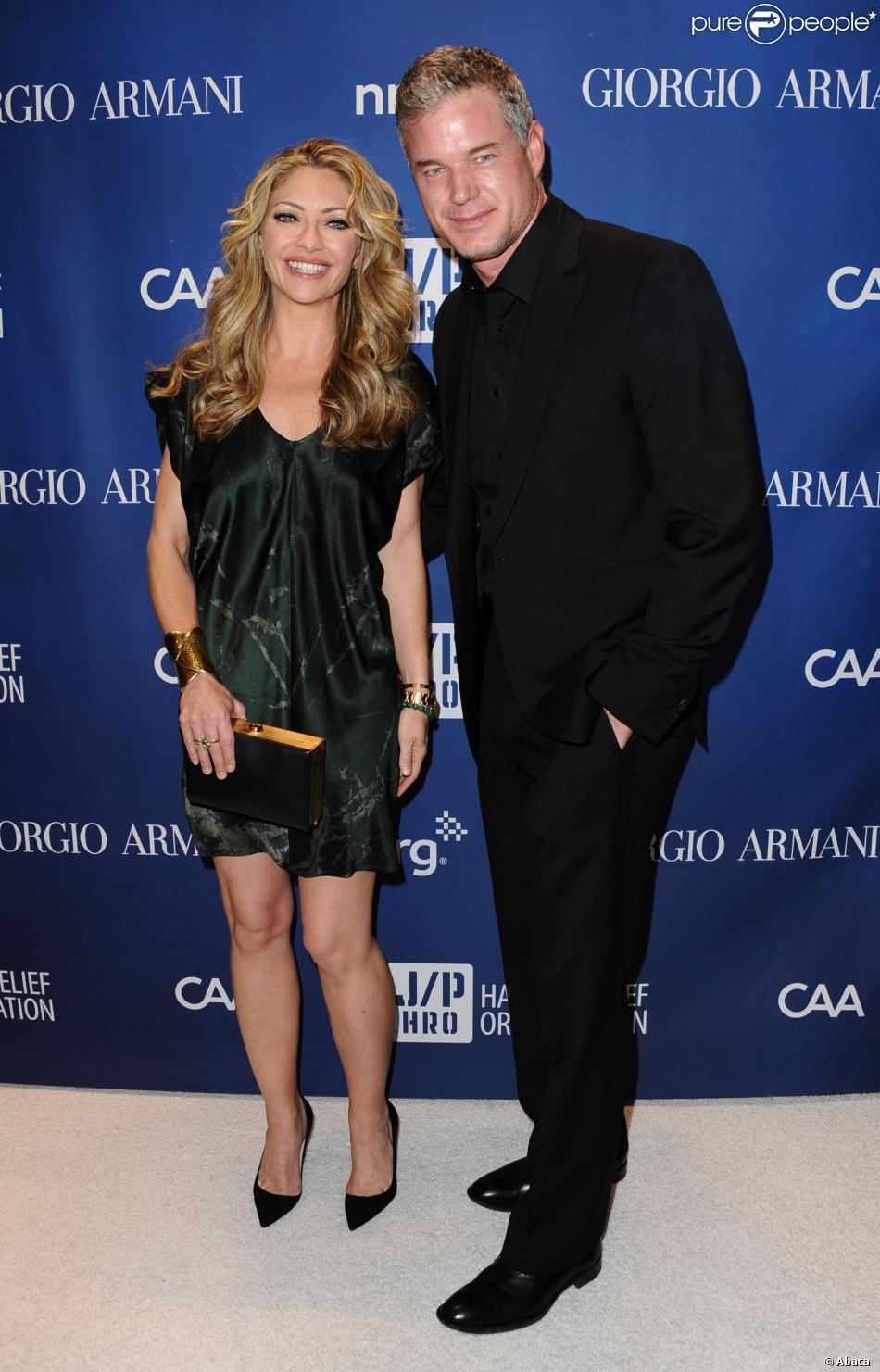 Rebecca Gayheart et Eric Dane lors du gala de charité organisé par ...