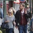 Dakota Fanning et son petit-ami Jamie Strachan dans le quartier de Soho, New York, le 18 octobre 2013