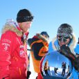 """ Le prince Harry lors du Walking With The Wounded South Pole Allied Challenge, qu'il a disputé en Antarctique en décembre 2013 avec le Team Glenfiddich """
