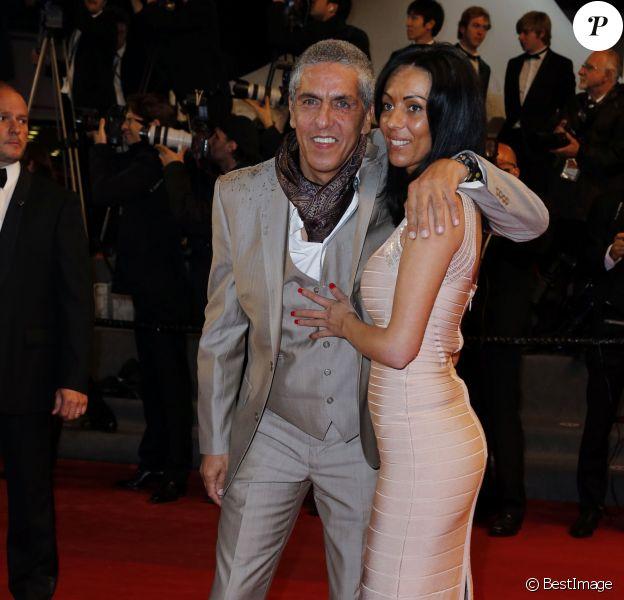 Samy Naceri et Audrey lors du Festival de Cannes le 18 mai 2013