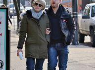 Robin Wright et Ben Foster, fiancés : Promenade bras dessus, bras dessous