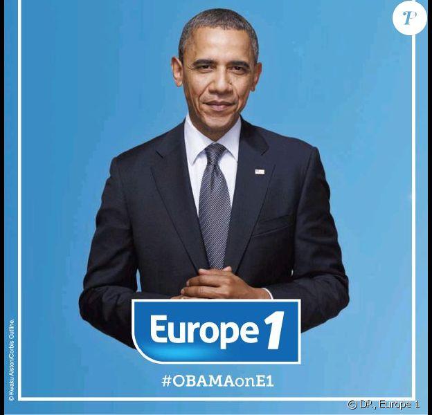 Europe 1 a très publiquement courtisé Barack Obama pour une interview, en publiant un grand encart à son attention dans le Washington Post, en janvier 2014
