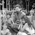 Prix special - ARCHIVES - SERGE GAINSBOURG, JANE BIRKIN, CHARLOTTE (GAINSBOURG) ET KATE (BARRY) A SAINT TROPEZ19/07/1977 - Saint  Tropez