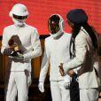 Daft Punk, Pharrell Williams, Lorde, Jay-Z et Macklemore & Ryan Lewis récompensés lors de la 56e cérémonie des Grammy Awards, à Los Angeles le 26 janvier 2014.
