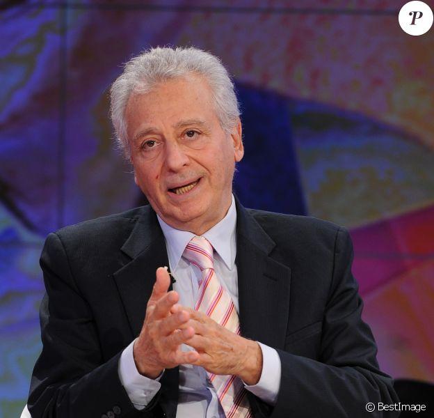 Pierre Dukan lors d'un passage à la télévision italienne, le 15 octobre 2011.