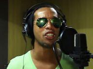 Ronaldinho : La star du foot se met à la chanson et montre un talent caché...