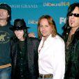Mötley Crüe àLas Vegas, le 8 décembre 2004.