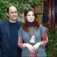 Agnès Jaoui et Jean-Pierre Bacri à Rome le 27 octobre 2004