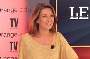 Anne-Claire Coudray, ses robes en cuir sexy : ''J'en suis vraiment désolée''