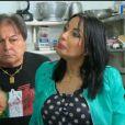 Marie-France et Pasquale dans le premier épisode de Giuseppe Ristorante, une histoire de famille sur NRJ12 le lundi 3 février 2014