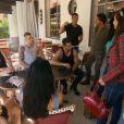 Les serveurs dans le premier épisode de Giuseppe Ristorante, une histoire de famille sur NRJ12 le lundi 3 février 2014
